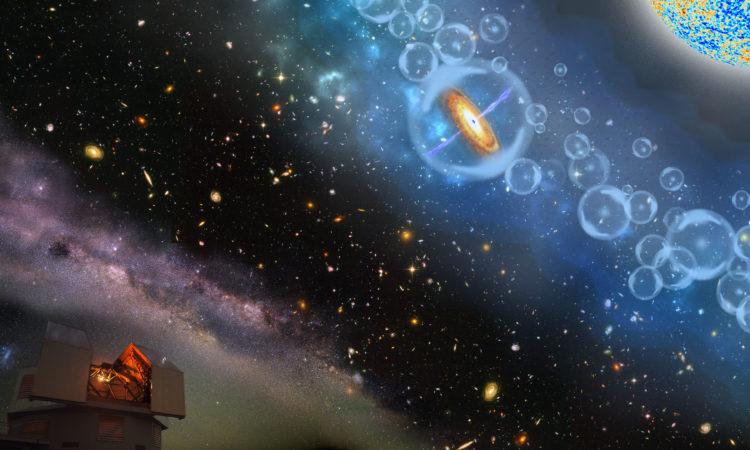Descubren un agujero negro 800 millones de veces más grande que el Sol