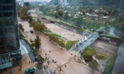 santiago floodings