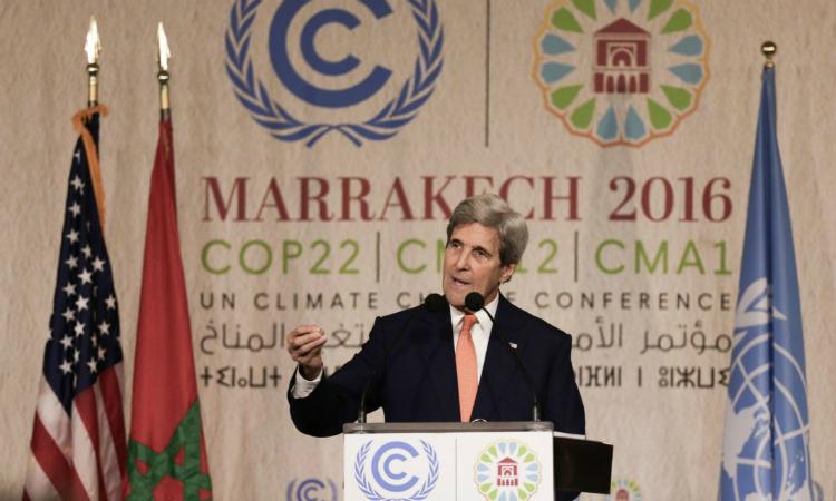 Secretario Kerry participa en #COP22