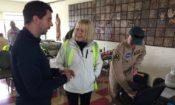 Embajadora Perez visita Punta Arenas