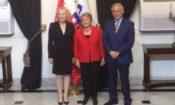 Embajadora Perez presenta cartas credenciales