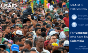 Statement by USAID Administrator Mark Green on U.S. humanitarian assistance for vulnerable Venezuelans.