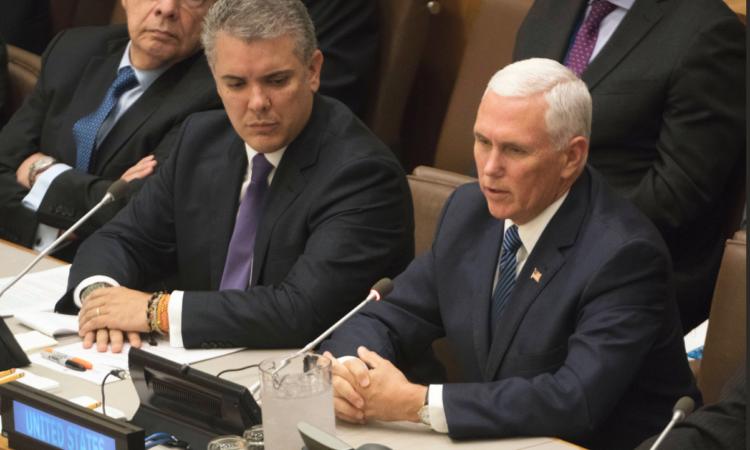 Vicepresidente Pence anuncia ayuda adicional para venezolanos