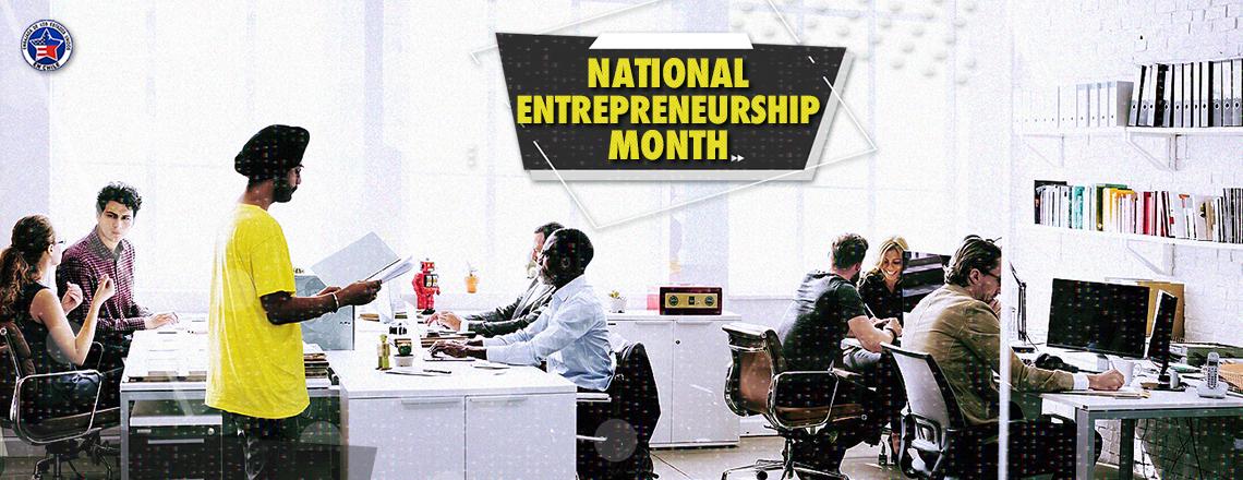 #NationalEntrepreneurshipMonth